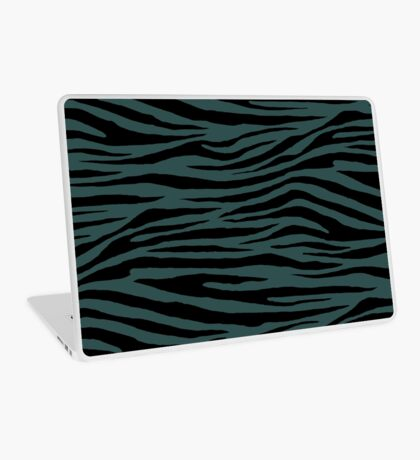 0199 Dark Slate Gray Tiger Laptop Skin