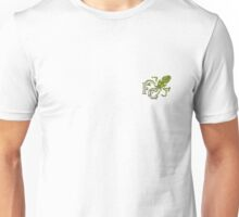 Four Corners tiny crest - for dark backgrounds Unisex T-Shirt