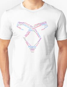 Mortal Instruments Word Rune Unisex T-Shirt