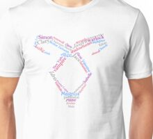 Mortal Instruments Word Rune Unisex T-Shirt