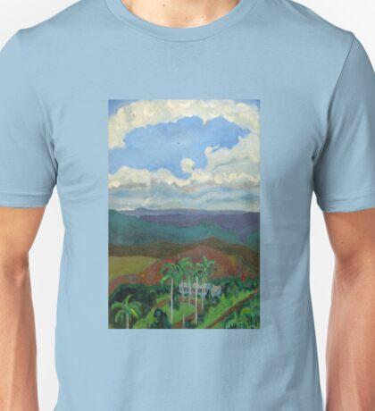 An interior view of Jamaica Unisex T-Shirt