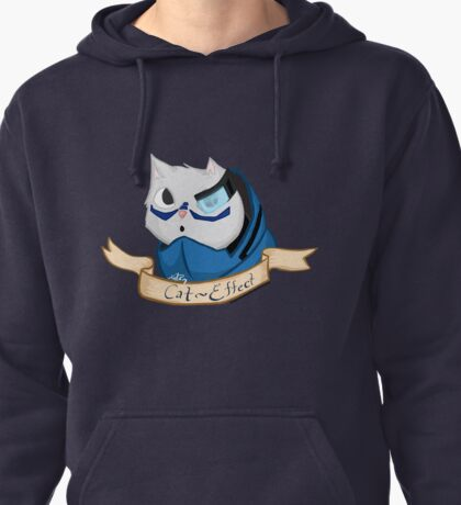 Cat Effect -- No background Pullover Hoodie