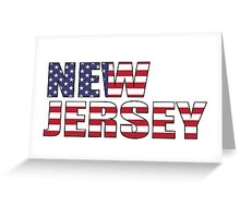New Jersery Greeting Card