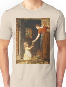 Vintage famous art - George Smith - Gathering The Grapes Unisex T-Shirt