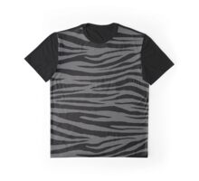 0208 Davy's Grey Tigers Graphic T-Shirt