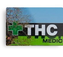 THC Medic Wear Metal Print