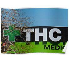 THC Medic Wear Poster