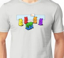 Gummy Bear Swingers Unisex T-Shirt
