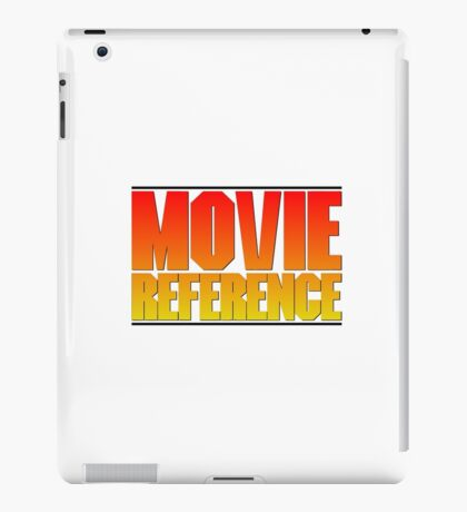 Movie Reference - Point Break iPad Case/Skin
