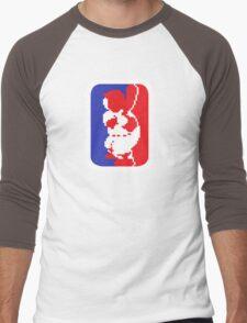Nintendo RBI Baseball Major League MLB Logo Men's Baseball ¾ T-Shirt