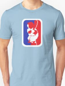 Nintendo RBI Baseball Major League MLB Logo Unisex T-Shirt