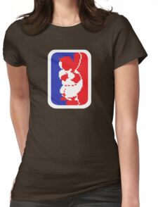 Nintendo RBI Baseball Major League MLB Logo Womens Fitted T-Shirt