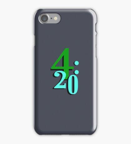 420 Cannabis National Smoking Time iPhone Case/Skin