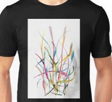 Unknown Flower 2 - Small Abstract Landscape,  watercolor, ink & pencil on paper Unisex T-Shirt