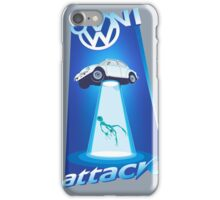 vw beetle abduction iPhone Case/Skin