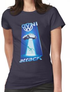 vw beetle abduction Womens Fitted T-Shirt