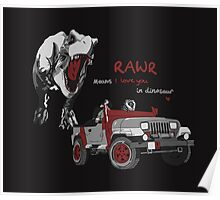 Rawr Means I Love You, Right? Poster