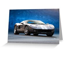 2006 Ford GT VS3 Greeting Card