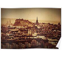 Edinburgh Vintage Print Poster