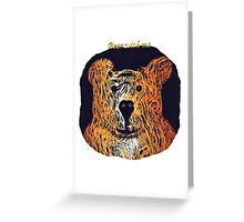 Bear With Me Greeting Card