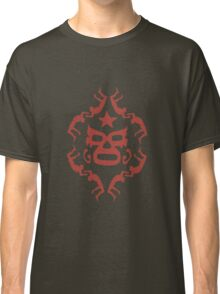 Red Lucha Libre Pattern 1 Classic T-Shirt
