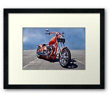 Chill'n Chopper I HDR Framed Print