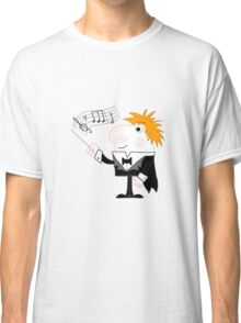 Cartoon Conductor Classic T-Shirt