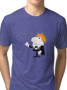 Cartoon Conductor Tri-blend T-Shirt