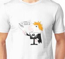 Cartoon Conductor Unisex T-Shirt