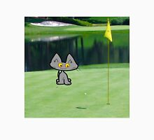 Cat  Playing Golf On The 18 Hole Unisex T-Shirt