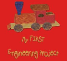 My First Engineering Project T-shirt, etc. design One Piece - Short Sleeve