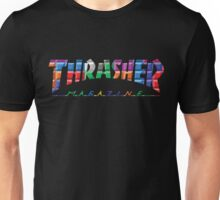 thrasher color block logo Unisex T-Shirt