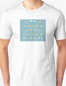 Cute Giraffe Illustration Unisex T-Shirt