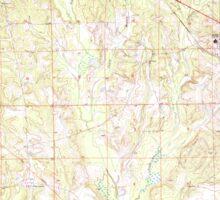 USGS TOPO Map Alabama AL Midway 304552 1973 24000 Sticker