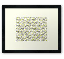 Pencil Abstract Framed Print