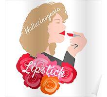 River Song's Hallucinogenic Lipstick Poster