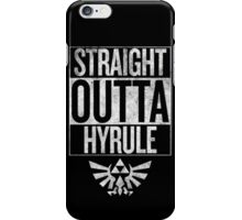 Straight Outta Hyrule | The Legend of Zelda iPhone Case/Skin
