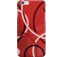 Random Red iPhone Case/Skin