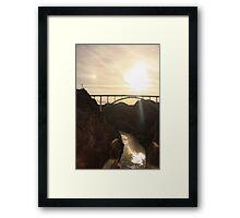 Sun Dogs Framed Print