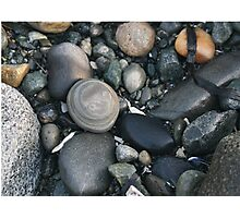 Zen Rocks Photographic Print
