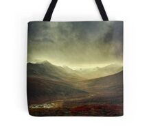 North Klondike River Valley after a storm Tote Bag