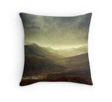 North Klondike River Valley after a storm Throw Pillow