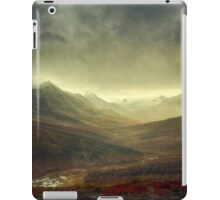North Klondike River Valley after a storm iPad Case/Skin