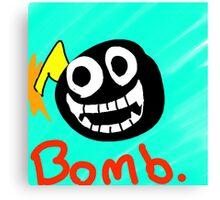 Bomb. Canvas Print