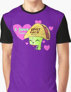 Gir Loves Tacos Graphic T-Shirt