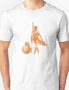 Rey and BB-8 in Sandstorm T-Shirt