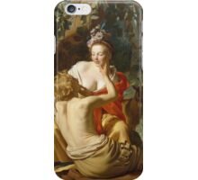 Vintage famous art - Gerard Van Honthorst - Granida And Daifilo 1625  iPhone Case/Skin