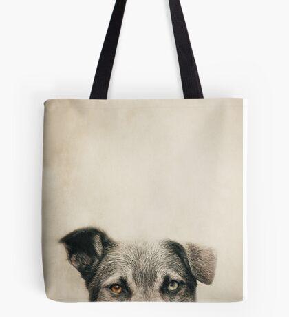 Half Dog Tote Bag