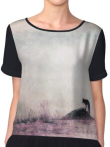 I only hear silence Chiffon Top