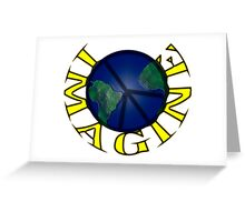 Imagine iPhone / Samsung Galaxy Case Greeting Card